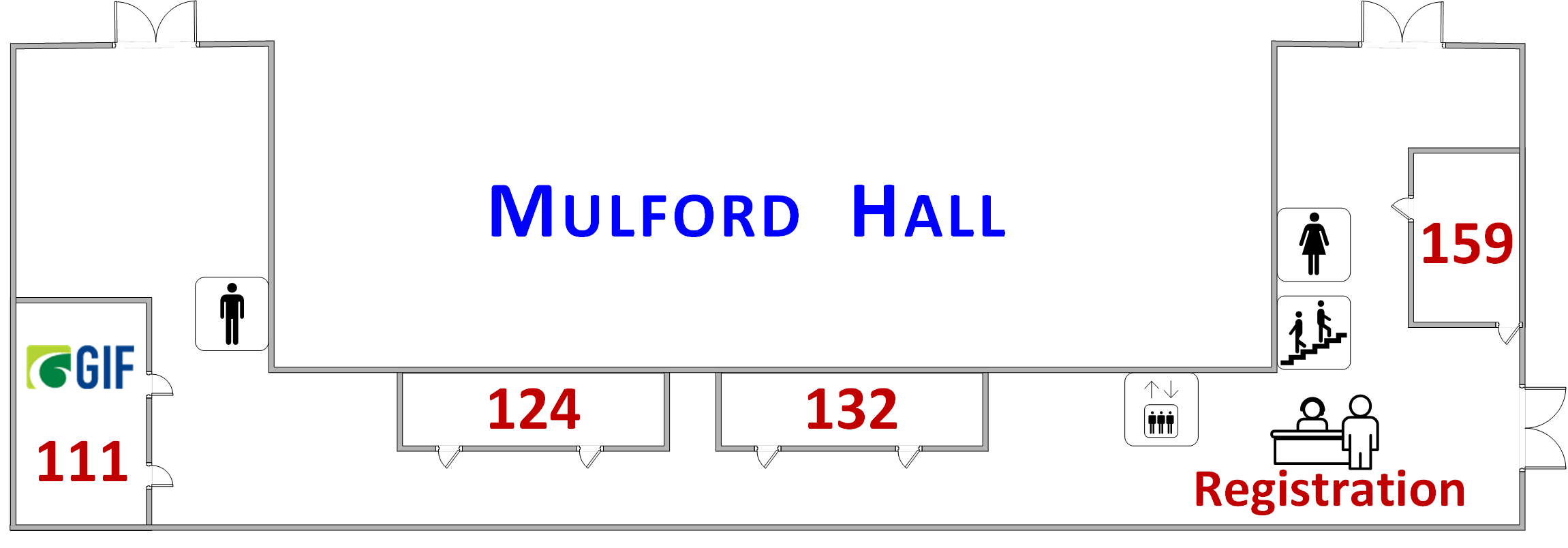 Mulford Hall diagram